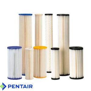 Pleated Filter Cartridges Pentek